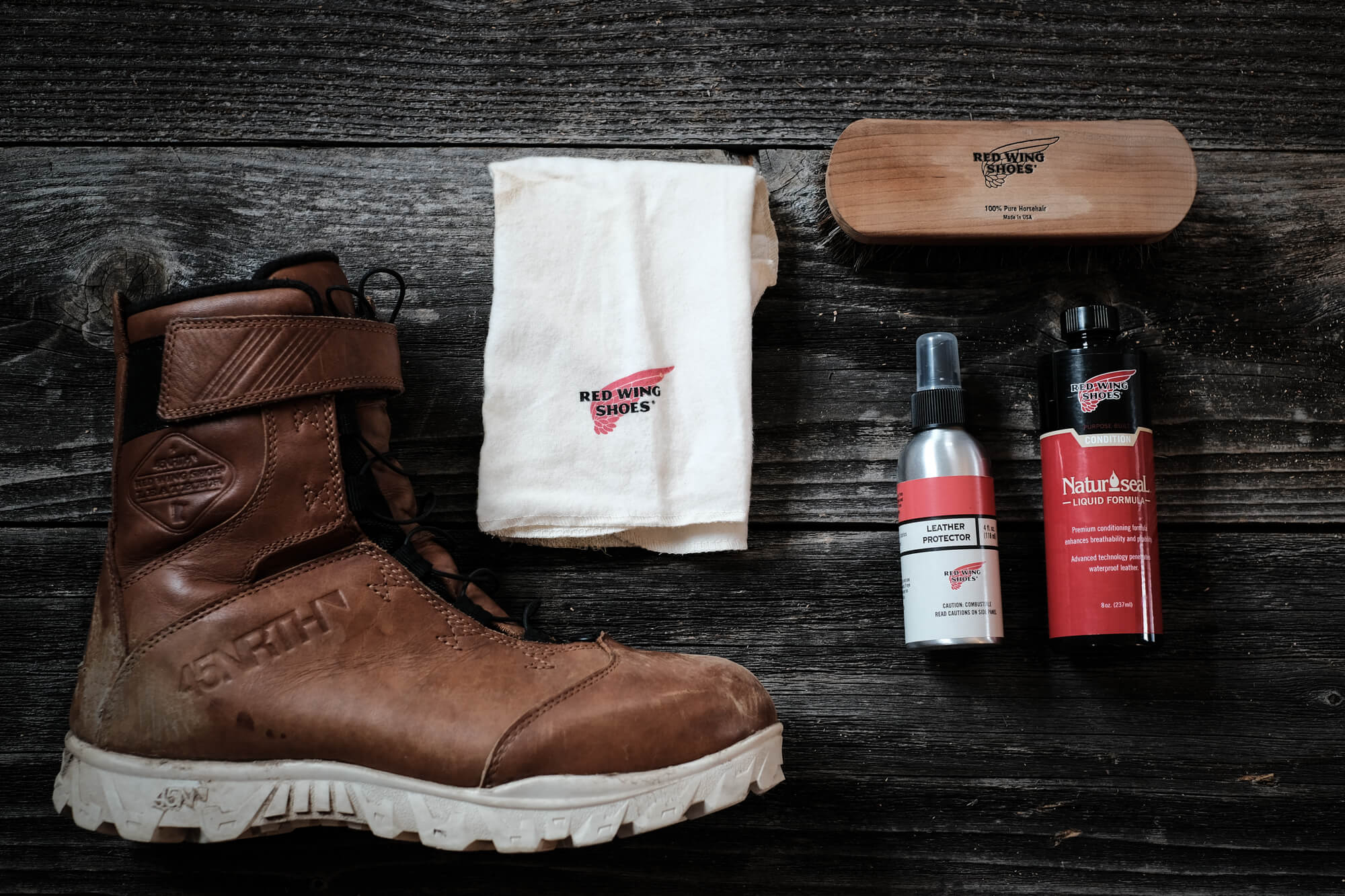 red wing boot care 45NRTH Wolvhammer