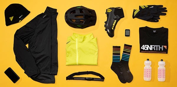 Cool weather cycling gear that is comfortable to wear in 45-degree weather