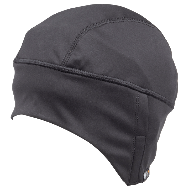 45NRTH Stove Pipe Windproof Cycling Cap - Black - front three quarter view