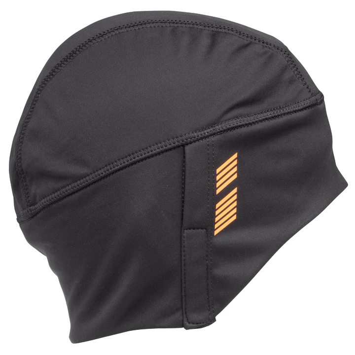 45NRTH Stove Pipe Windproof Cycling Cap - Black - side view with design element
