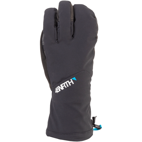 45NRTH Sturmfist 4 Glove - Black - back of hand view
