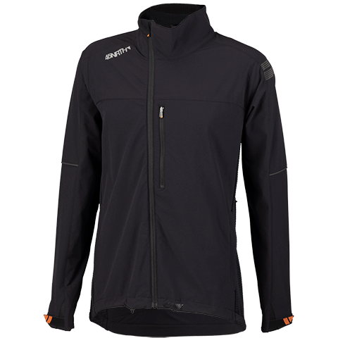 45NRTH Men's Naughtvind Winter Cycling Jacket - Black - front view