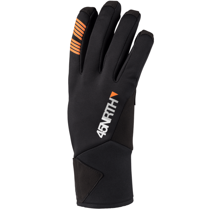 45NRTH Nokken Glove - Black - back of hand view
