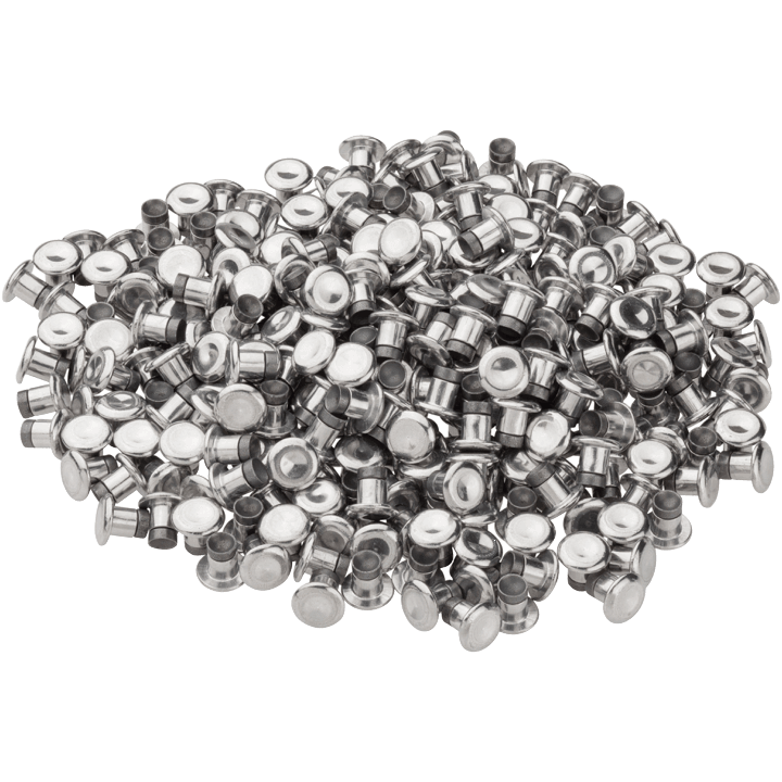 45NRTH XL Concave Studs - silver - pile of 300 studs