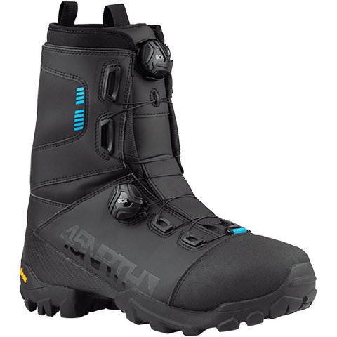 45NRTH Wolfgar BOA Cycling Boot - black - front three quarter view